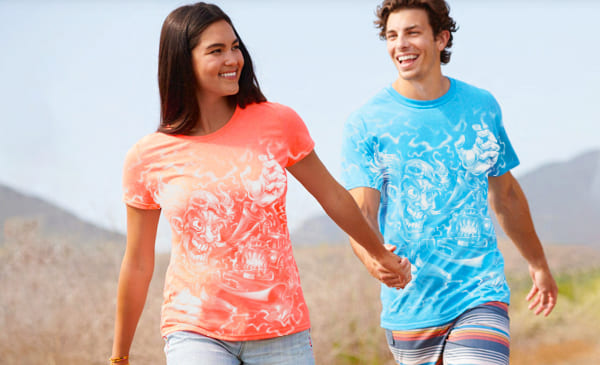 Custom All Over Print T-Shirt Printing Services