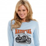 Motorcycling t-shirt discount with Broken Arrow Wear