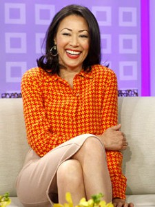 Ann Curry s custom apparel