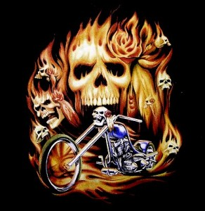 custom motorcycle t-shirts