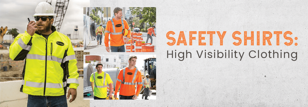 SAFETY SHIRTS: High Visibility Clothing