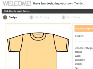 Online Shirt Designer
