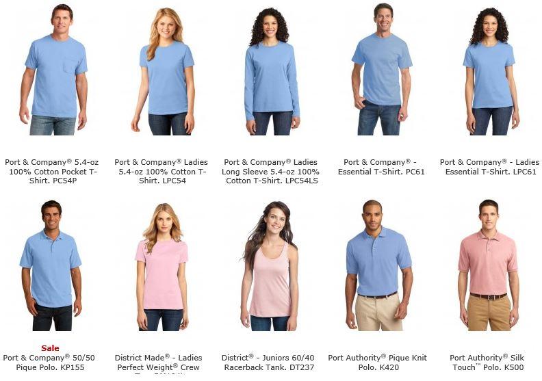 pantone shirts 1