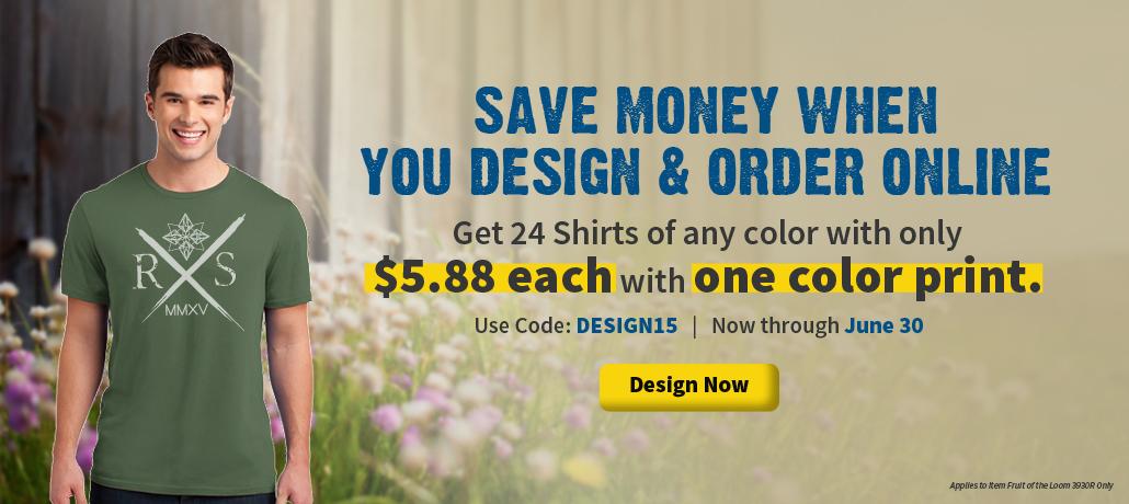 Custom Printed Shirts Order Online Designs Screen Printing