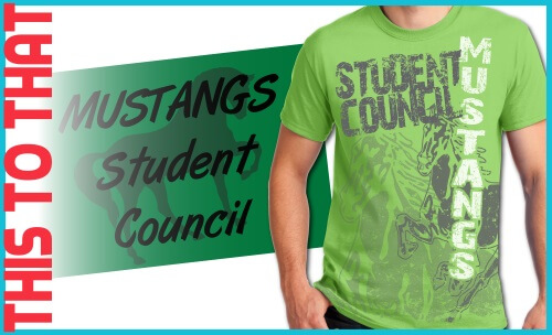 Custom T-Shirt Decorating