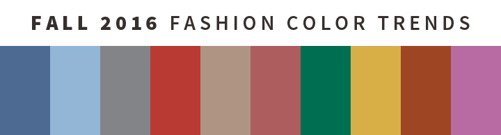 fall fashion colors