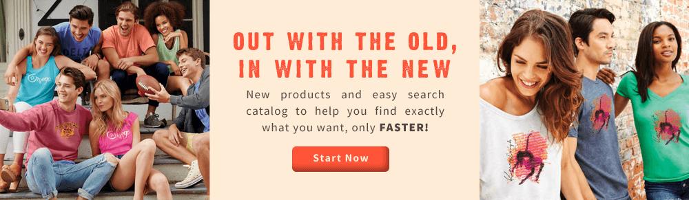Best Online Custom Apparel Catalog