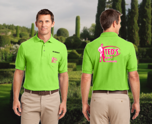 custom embroidered polo shirts