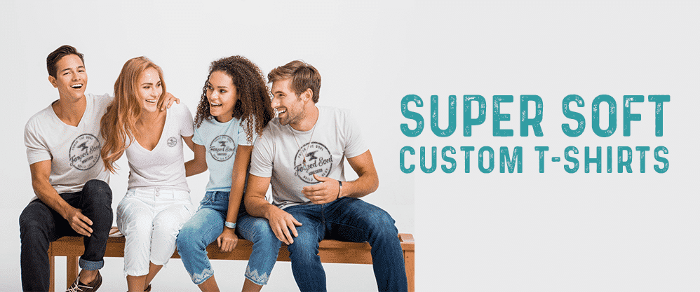 Super Soft Custom T-Shirts