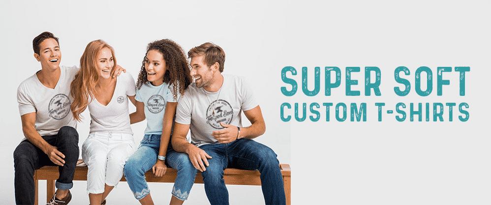 custom super soft t-shirts