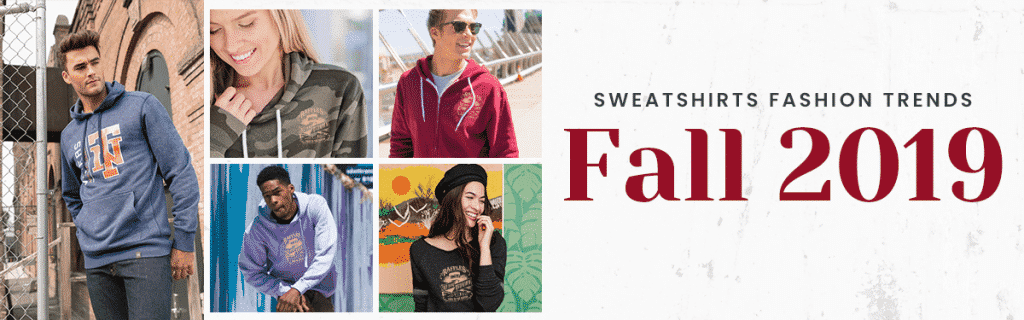 Sweatshirt Fashion Trends Fall 2019