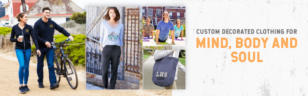 Custom Decorated Clothing for Mind, Body, and Soul