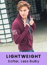 custom lightweight hoodies