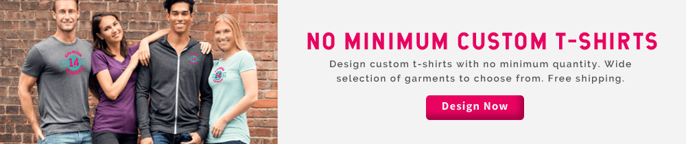 c1908c8a6 Custom T-Shirts No Minimum Order Online