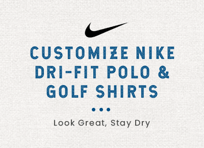 customize a nike polo