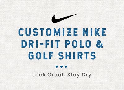 Nike Polo Shirts Custom Dri Fit