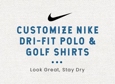 ae6a49897 Custom Embroidered Nike Dri-FIT Polo Shirts
