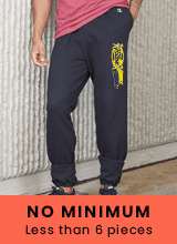 no minimum custom pants