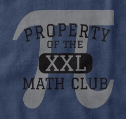math club tee - Team T Shirt Design Ideas