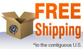 Broken Arrow offers FREE shipping to the continental United States!