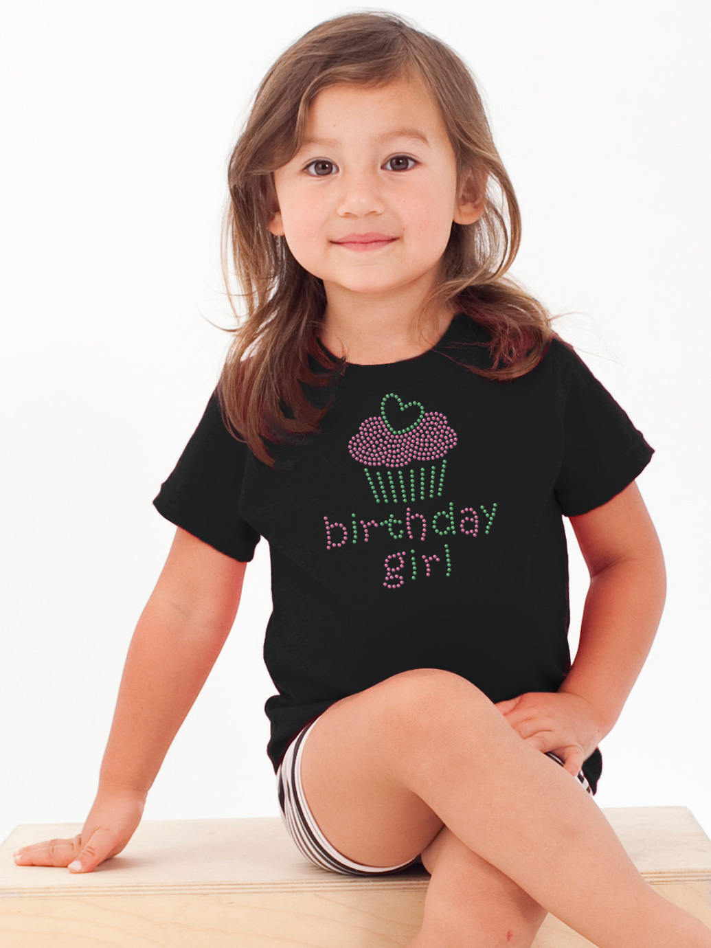 Birthday Girl Pre Made Single Piece Art Shirt Orders