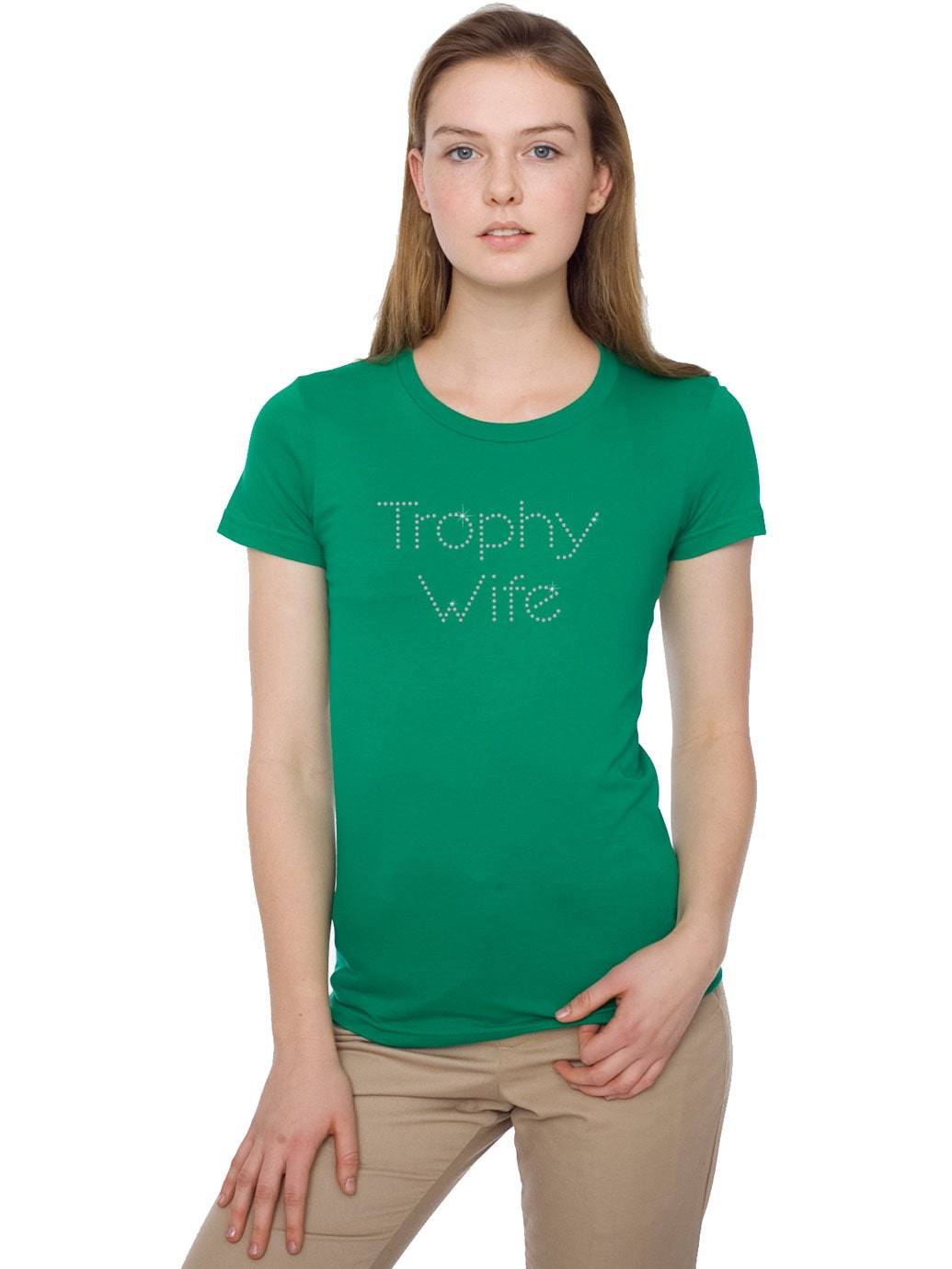Trophy wife bling t shirt tanktops no minimum rhinestone for T shirt design no minimum