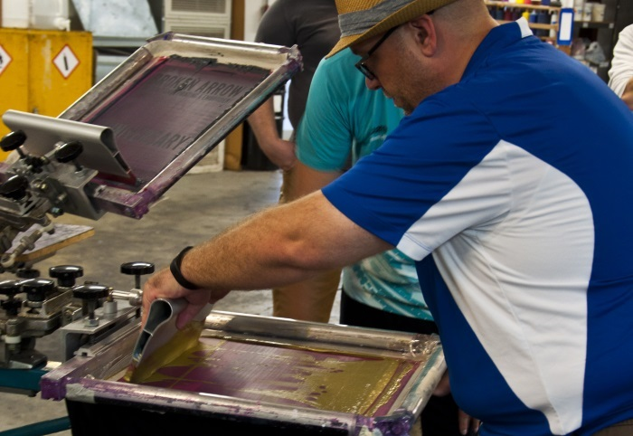 adult screenprinting