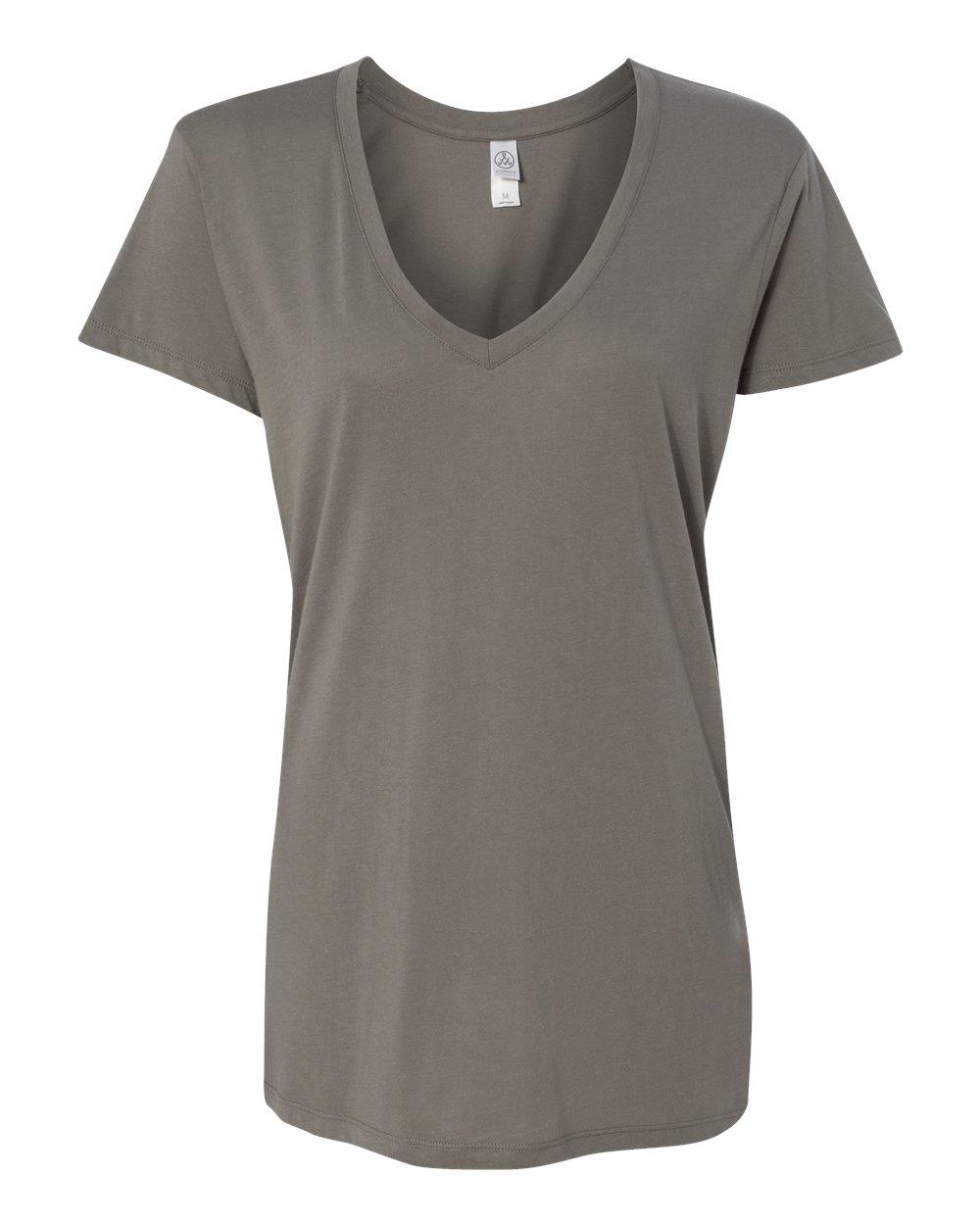 8ce691c1 Custom Juniors V-Neck T-Shirts - No Minimum