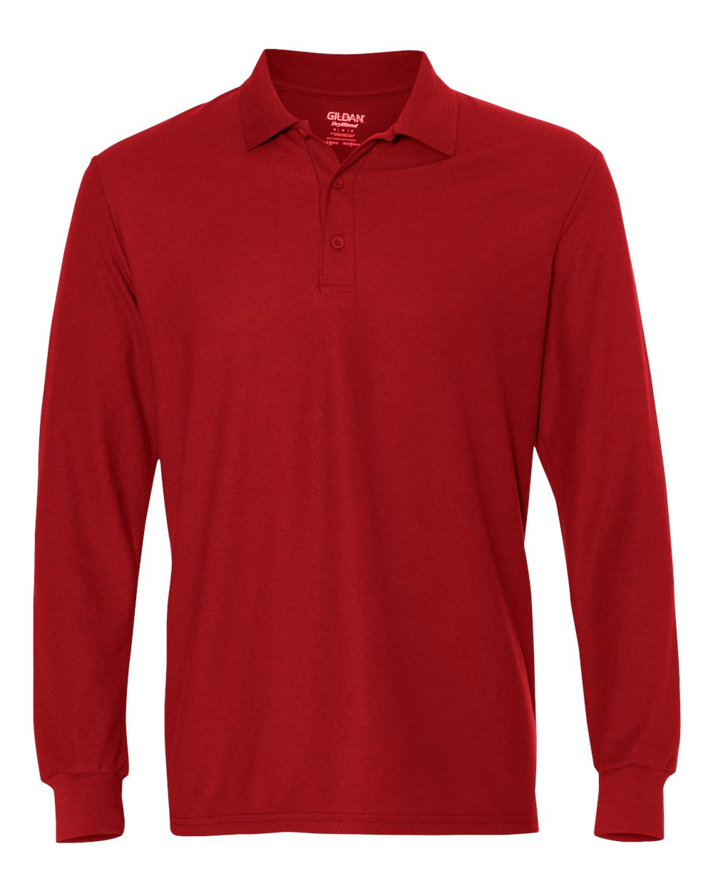 1631fdaf Custom Embroidered Long-Sleeve Polo Shirts