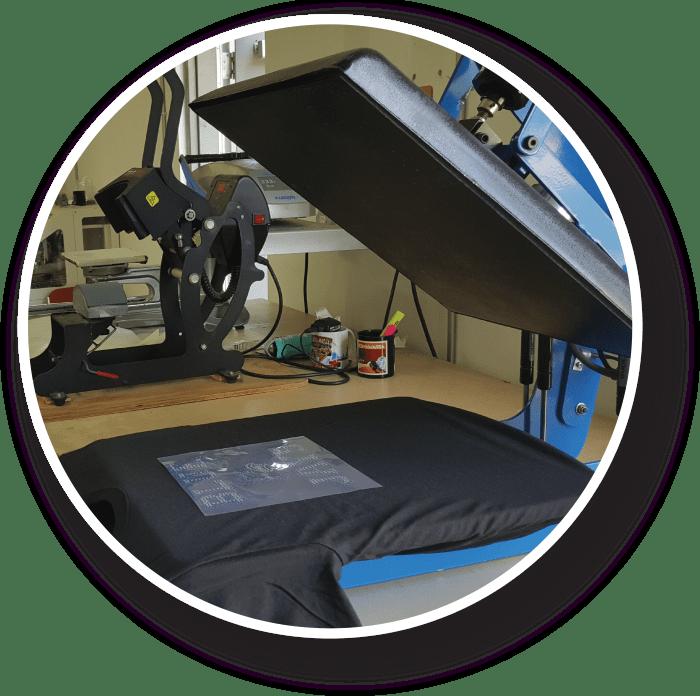 heat press bling machine