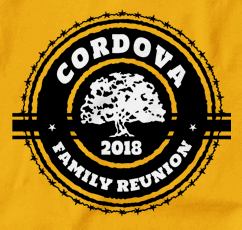Custom Family Reunion Shirt Printing