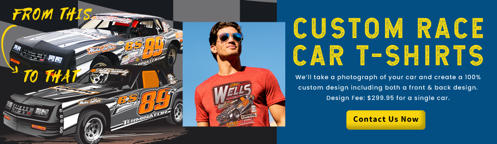 race car shirt designs