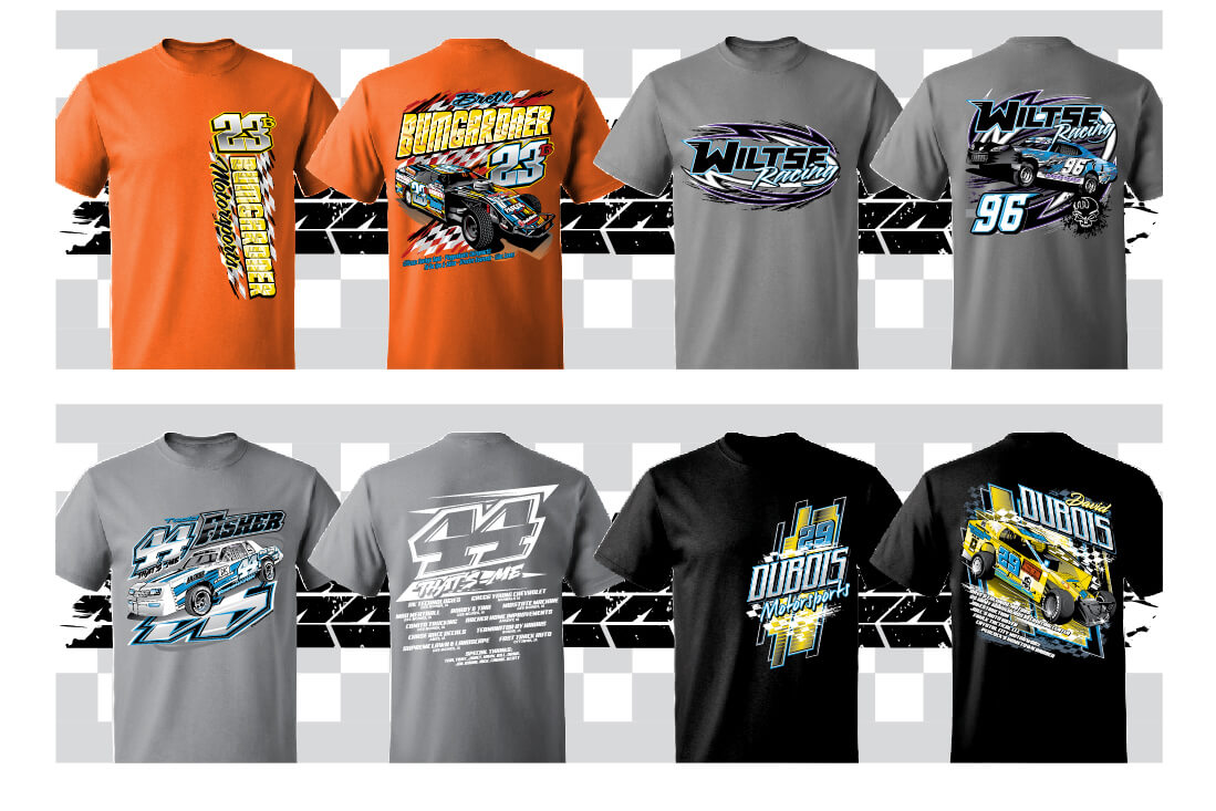 Custom racing t shirts hoodies for Racing t shirts custom